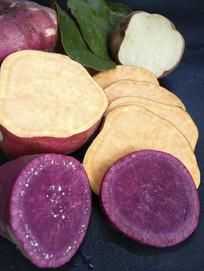 农家紫薯红薯产品