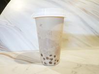 珍珠奶茶摄影图