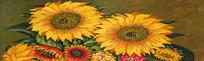 向日葵装饰画