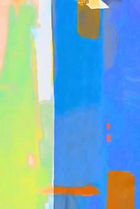 微喷抽象油画