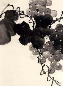 新中式装饰画葡萄