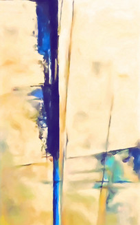欧美现代抽象油画