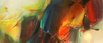 写意抽象油画