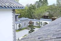中式园林院落别墅景观
