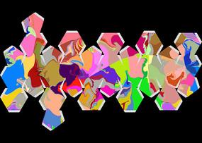 彩色包装印花图案设计