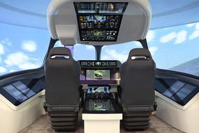 飞机智能驾驶舱模拟器