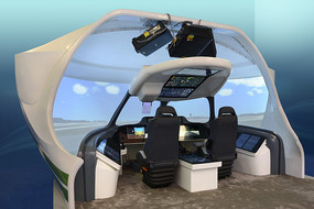 客机飞行模拟器