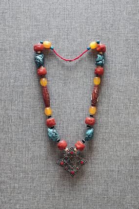 門巴族婦女項鏈