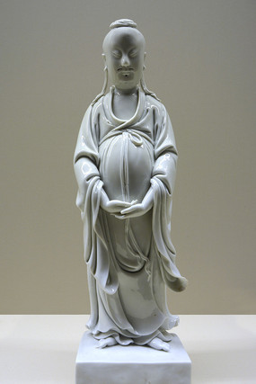 明代德化瓷神像