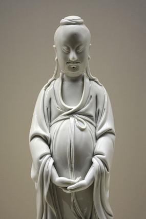 明德化白瓷神像