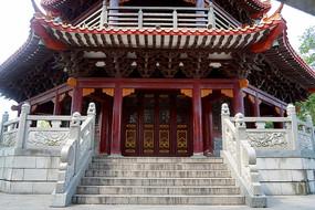 深圳紅花山公園和明塔古塔