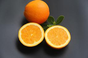 鮮果靜物橙子