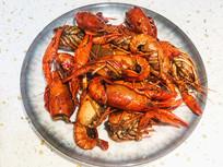 辣炒小龙虾