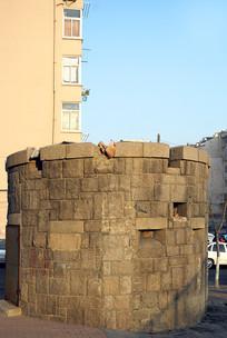 青岛市区的碉堡遗迹