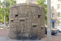 青岛市区徐州路的碉堡遗迹