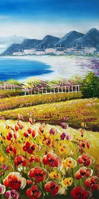 地中海风景画