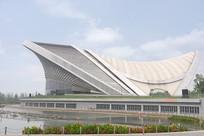 成都露天音乐公园-水之剧场