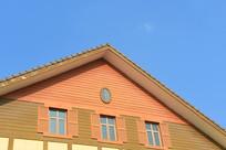 欧式山墙及窗户