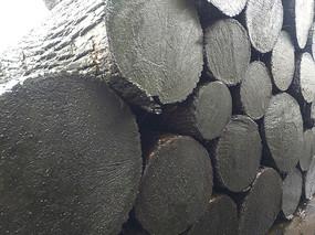 胡桃木原木
