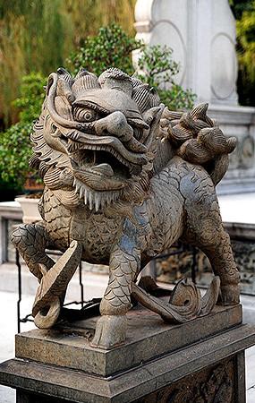 动物雕塑小品