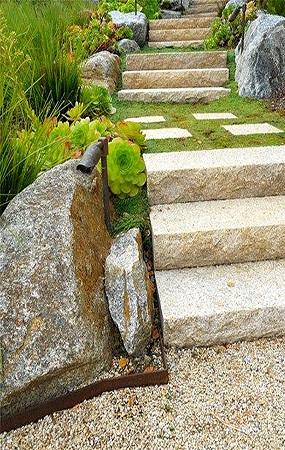 台阶踏步铺装
