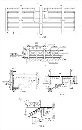木平台铺装