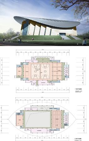 校园建筑CAD