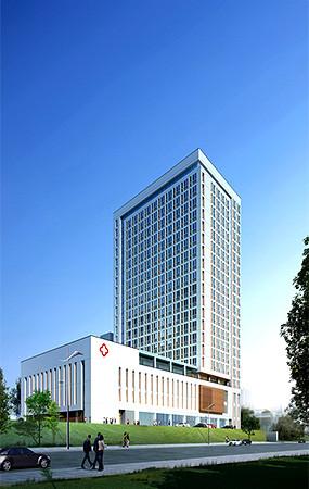 医院建筑景观效果