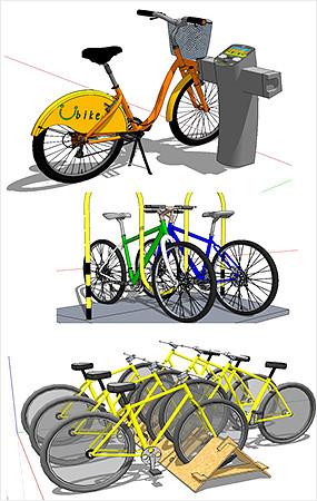 自行车停放点