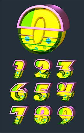 字母数字模型