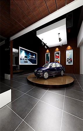 汽车展厅店铺3dmax模型