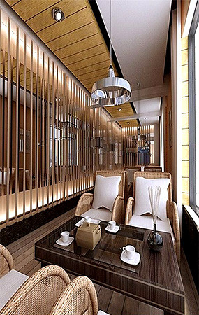 咖啡厅3dmax模型