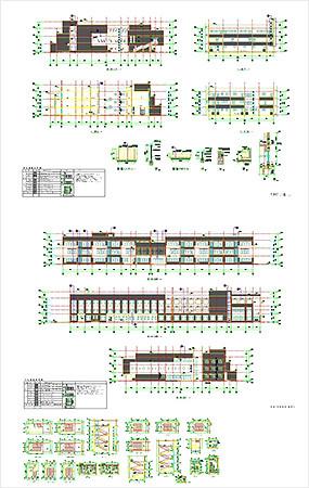幼儿园建筑CAD