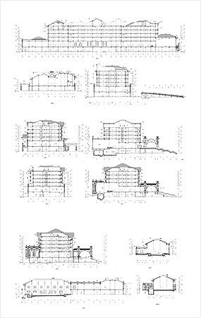 酒店建筑CAD图纸