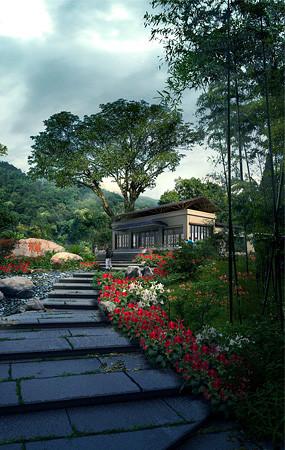 度假村酒店景观