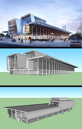 火车站模型