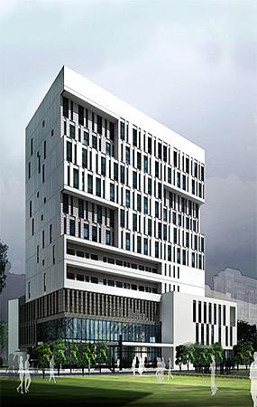 医院建筑效果图