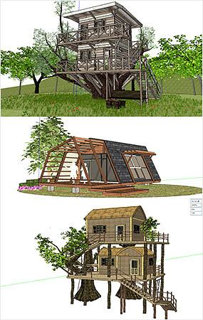 简易创意木屋