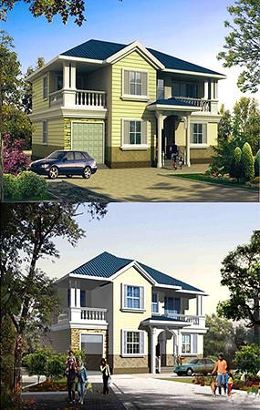 别墅建筑效果
