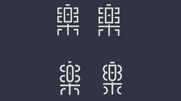 张家佳字体72变(乐)字变形