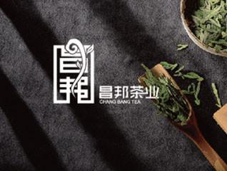 昌邦茶业logo设计