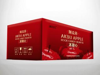 新疆冰川红苹果包装