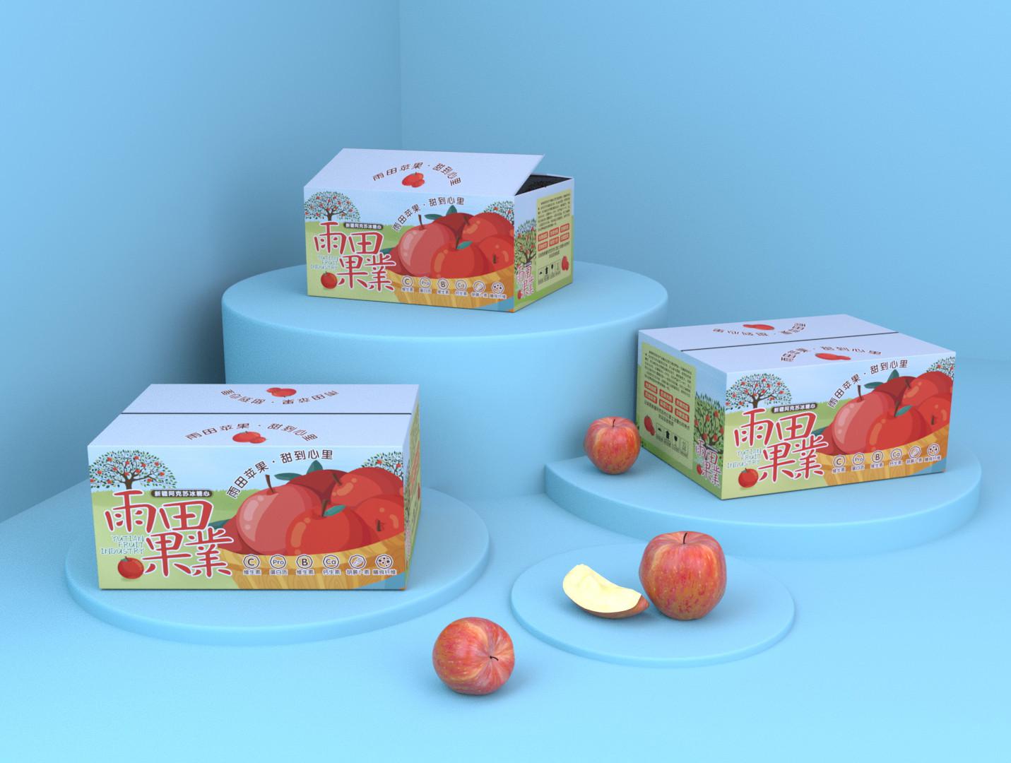 阿克苏冰糖心苹果箱