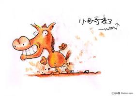 关于马的漫画