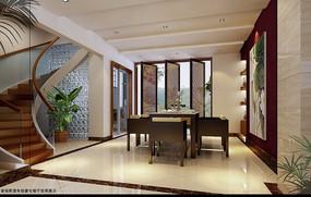 3d客厅渲染效果图