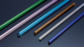 彩色玻璃棒