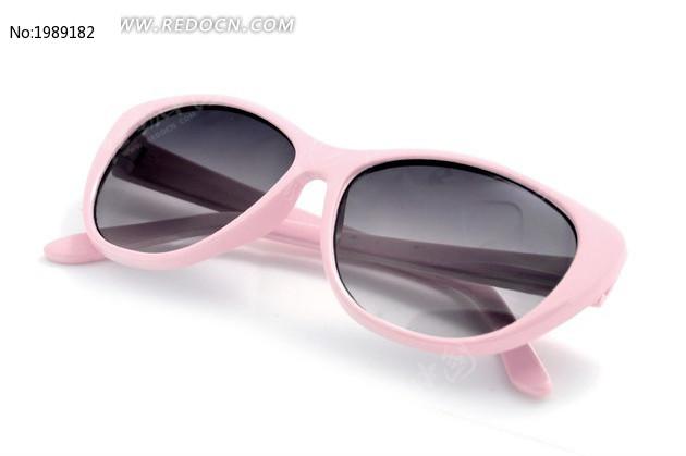 粉色优雅儿童太阳镜图片