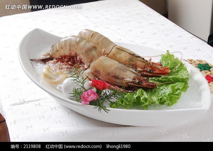 超大深海虾图片