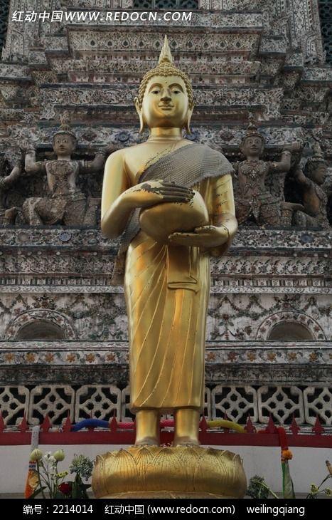 泰国黎明寺佛像图片