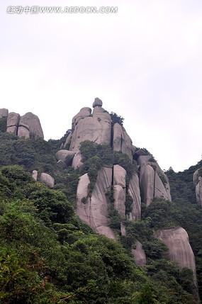 太姥山岩石峭壁